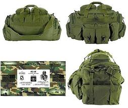 The Tank Duffel Bag + FREE SURVIVAL BRACELET/BOB/Tactical/Mi