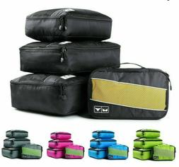 Travel Bag Packing Cubes Nylon Organizer Breathable Mesh Duf