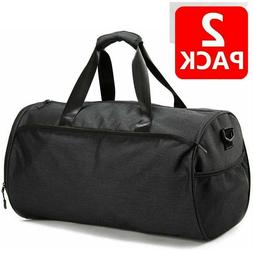 2x Travel duffle bag 50L Shoes Pocket Wet Compartment Waterp