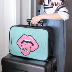 Travel Portable Zipper Boys And Girls Available Solid Color