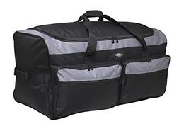 """Travelers Club 36"""" X-Large Expandable Triple Wheeled Rolling"""