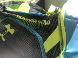 Under Armor Storm Small Duffel Duffle Gym Bag Lime Green Wit