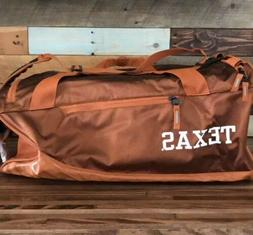 Nike Vapor Max Air Duffle Bag UT Texas Longhorns 3174 Cu in b7c80318c296f