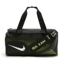 Nike Vapor Max Air Training Duffel Bag Black Volt Gym Traini b991f3ab419db