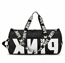 Victoria Secret Pink Gym Duffle Bag Black