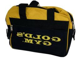 """Vintage Yellow Golds Gym Small Duffle Bag Unisex 16"""" Long"""