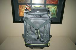 """High Sierra Volusia 22"""" Carry-On Upright Wheeled Duffel With"""