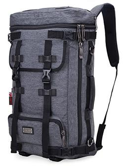 WITZMAN Water Resistant Travel Nylon Backpack Laptop Rucksac