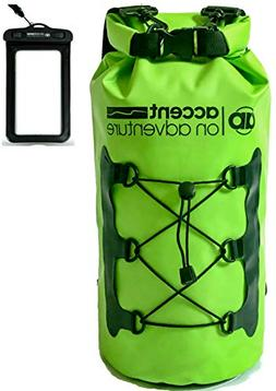 Premium Waterproof Dry Bag Compression Sack, Roll TopClosure