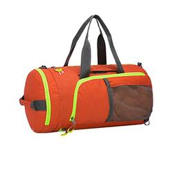 iBaste_S Waterproof GYM Duffel Bag 3 in 1 Ultra Light Folda