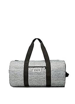Weekender Duffle Heather Gray Black Sport Gym Bag