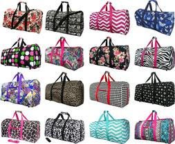 "Women's Fashion Print 22"" Gym Bag Dance Cheer Travel Carry-o"