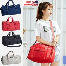 Women's Shoulder Bag Hand Travel Luggage Handbag Sports Gym