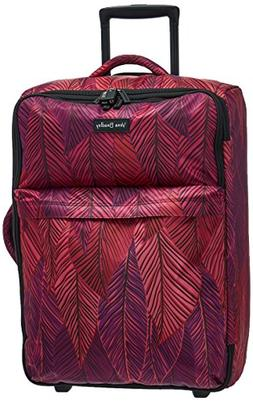 Vera Bradley Women's Large Foldable Roller, Banana Leaves Fu