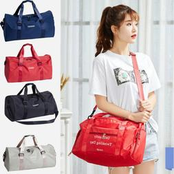 Women's Travel Hand Luggage Handbag Sports Gym Shoulder Bag