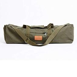 Ananday Extra Large Yoga Mat Duffel Bag with Pockets and Zip